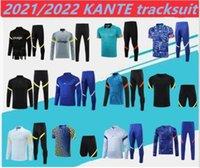 2021 2022 KANTE Trainingsanzug Suringement 2021 Werner Ziyech Havertz Pulisic Chandal Football Training Suit.size: S-2XL.