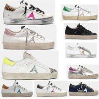 Golden Hi Star Shoe Shoe أحذية رياضية إيطاليا Deluxe Brand Classic White Do-Old Dirty Goose مصمم رجل أحذية رجالية