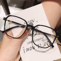 Черная рамка, большой тонкий и супер свет, с близоруким стеклом, женское, простое лицо, сетка красный, мода мужской роскошный бренд мужские женские солнцезащитные очки de sol polarizadas