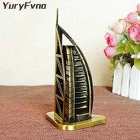 Yuryfvna المعادن الإمارات العربية المتحدة دبي برج الفندق تمثال البرج العربي تمثال السياحة تذكارية المنزل الديكور هدية