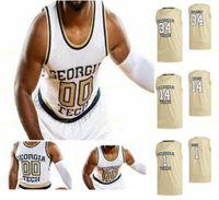 NCAA كلية جورجيا تك سترات صفراء كرة السلة جيرسي 35 كريستيان سجولوند دولي شهيد ميدلوك موسى رايت مالاتشي الأرز مخصص