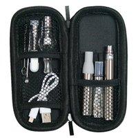MOQ 5Pcs 1100mah UGO 4 In 1 Vape Kit 510 thread battery With Glass Globe Wax Atomizers CE3 O Pen Vapor eGo CE4 AGO Herbal Vaporizer Kits