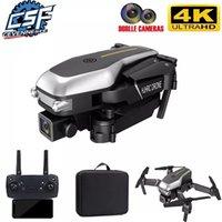 2021 New HJ95 Mini Drohne 4k Professionelle Dual Camera 1080P Wifi FPV DRONE Faltbare Quadcopter Dron RC Hubschrauber Spielzeug für Jungen