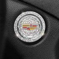 Keychains Car Cadillac XT5CT5 XT4 XTS 6 CT4 CT6 ATSL One-key Start Ring Decoration Stickers Diamond Rhinestone Key General