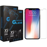 9H Explosion Proof Premium Shield Clear Transparent 2.5D Tempered Glass Screen Protector FilmFor iPhone 13 Pro Max 12 Mini 11 XS XR X 8 7 6 6S Plus SE With Retail Package