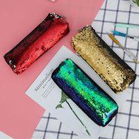 Wallets VOGVIGO Fashion Student Mini Stationery Bag Sequins Girls Kids Coin Purses Pouch Small Money Change Storage Bags Handbag