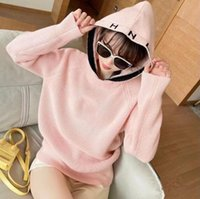2021ss Autumn Winter high quality women's sweaters Designer Hoodie knitted C letter embroidery temperament high-end fashions fashion soft 3 color mix