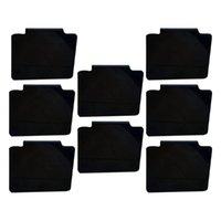 Tag Gun 8PCs raderbara frukter Vegetabiliska pris Etikett Rack Display Stand Boards