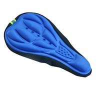Bike Saddles 3D Gel Pad Cushion Cover Bicycle Saddle Seat MTB Mountain Cycling Thickened Extra Comfort Soft Silicone