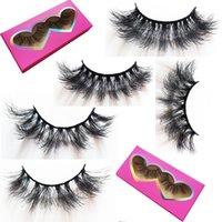 16-18mm thick mink lashes wholesale fluffy messy 3d false eyelashes pestañas postizas custom packaging short lash vendors fake eyelash
