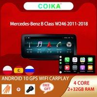 """10.25 """"Lecteur DVD de voiture à écran tactile IPS pour Mercedes-Benz W246 2011-2018 BT Google WiFi GPS Radio 2 + 32G RAM CARPLAY Android 10.0"""