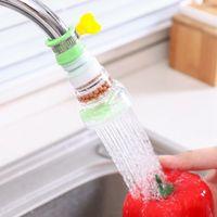 Rotación Herramientas de cocina Faucet Sputs Pointers PVC Ducha grifo Filtro de agua Filtro Purifier Saver para accesorios para el hogar OWF11177