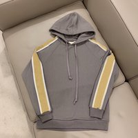 21ss Men's and women's cotton hoodies printed letter sweatshirts, brand-name luxury, top fashion, loose clothing, trendy designer knitted reflective sleeve sweaters