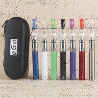 Ego Starter Kit Glas Globus Tank für Wachs Trockenkräuterdampf Zerstäuber Elektronische Zigarette M6 Ego-T-Reißverschluss Etui Batterie ClearoMizer E Zigaretten