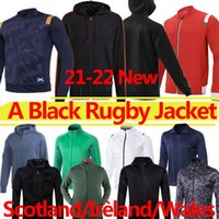 ALL BLACK South Africa  Scotland Ireland England Red Wales  Rugby jerseys Jacket Francese France 2021 Uomo Rugby Sweatjersey Felpe con cappuccio Giacche Tutte