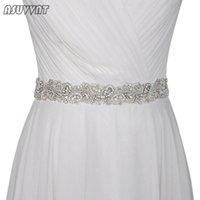 Wedding Sashes Luxury Belt Rhinestone Bridal Belts Flower Satin Ribbon Girdle Lady Accessories For Party Dress Bridesmaid