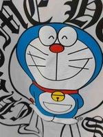 Moda Yeni At Nalı Karikatür Robot Kedi Baskılı T-Shirt Croxin Rahat Moda Marka Yaratıcı Unisex Kısa Sleeve2IPV
