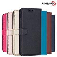 Leather Flip Wallet Case For Galaxy J4 J6 Plus J8 J2 Pro 2018 J3 J5 J7 Core Prime Cases Cover Phone Bags