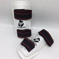 Bras de jambe chauffe-jambes taekwondo sanda boxe protecteur de sport protège-corps garde kickboxing wtf adulte enfant épaississement protection accessoire