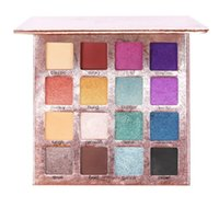 Eye Shadow Party Makeup Eyeshadow Palette 16 Colors Pink Purple Gold Nudes Matte Shimmer Women Pigmented Powder Pallet Summer