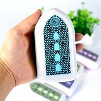 Kuran Hoparlör LED Lamba Gece Lambası Duvara Monte Oyuncu Anahtar Kontrol Zikr Ruqyah Müslüman İslam Hediyeler (UK-Plug) MP3 MP4 Çalarlar