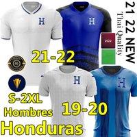 21/22 República De Honduras Jerseys de football 2021 2022 López Castillo Garcia Maillot Beckeles Lozano 7 Izaguirre 19/20 Accueil Camisetas de Fútbol 3ème Shirts Football