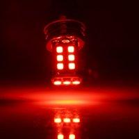 2 UNIDS ROJO COCHE BULBS High Power Super Bright 1156 P21W BA15S 2835 15SMD LED Backup Backup Luces de freno de la cola Aparcamiento DC 12V