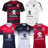 Stade toolousain 2019 2020 2021 الكبار سوبر الرجبي جيرسي لو قميص تولوز مايلوت camiseta ماجليا قمم trikot camisas كيت S-5XL 4XL