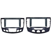 Kit de tableau de tranche de voiture Fascia A / C Installez le cadre de la plaque de panneau radio de FACIA DVD pour Hyundai Sonata NFC 2008-2010 Accessoires de pêche