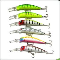 Baits Sports & Outdoors6 Colors 14.5Cm Big Game Fishing Lures Plastic Hard Bait Tackle Pesca Fish Wobbler Minnow Artificial Lure Swimbait Dr