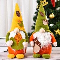 Harvest Festival Gnomes Fachlose Puppe, Nordic Swedish Nisse Handgemachte Zwerg Plüschpuppen