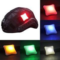Outdoor Tactical Signal LED Light Indicators Helmet Survival Lamp Waterproof Military Molle Hunting Vest Bike Lights
