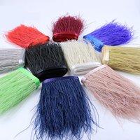 Várias cores de pavão aparar franja 15-18cm 5-7 polegadas em largura para o casamento de artesanato