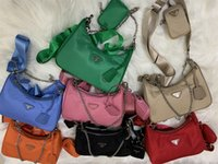 2021 sacs à bandoulière de haute qualité Nylon cuir véritable sacs à main Bestselling Walket Femme Sac Cross Body Hobo Pursards