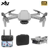 Симулятор XKJ Drone с широкоугольным HD 4K 1080P высота камеры удерживает WiFi RC Складной Quadcopter Подарочная игрушка для Dropher