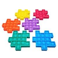 Pops It Push Bubble Fidget Sensory Favor Rubik's Cube Toy Stress Reliever Decompression Toys Adult Kid Funny Antistress Toys-Squishy Jo