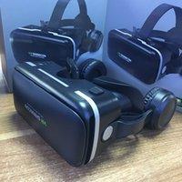 Bin Sihirli 6 Nesil VR Shinecon / A Kulaklık Cep Telefonu 3DVR Gözlük Sanal Gerçeklik Kask Panoramik Büyü