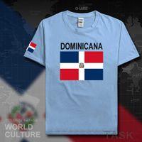 도미니카 공화국 Dominicana Dom 남성 T 셔츠 유니폼 국가 팀 Tshirt Cotton T 셔츠 체육관 의류 티셔츠 도미니카 X0621