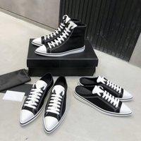 2021 Designer Donne in cotone Gabardine Scarpe Casual Fashion Ladies Canvas Appartamento Appartamento Art-Top Sneaker Low-Top Flats Donna Comfort Trainer Sneakers 35-40