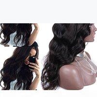 بيرو موجة الجسم u الجزء شعر الإنسان الباروكات الأوسط الأيسر اليمين u الجزء البكر الشعر الباروكات للنساء السود اللون الطبيعي 12-26 بوصة