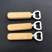 Opener de garrafa de madeira abridores portáteis abridores de cerveja barra de cozinha ferramentas de garrafa de cerveja abridor de garrafa de vinho abridor CYZ3061