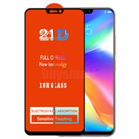 21D Full Glue Screen Protector Tempered Glass Curved Premium Cover Guard Film Shield For INFINIX Note 10 Pro HOT Play ZERO 8 8i X657 X683 X687 X690 SMART 5