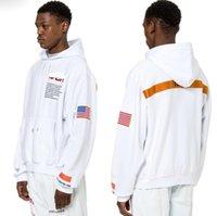 Streetwear Travis Scott Cotton Nasa Sweats à Sweats à Sweats à Sweats à Hoods de mode imprimé Sweat à capuche automne Hiver Mans Femmes Pull Hip Hop Sweat à capuche à capuche