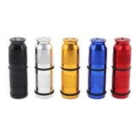 Bunte Aluminium-zylindrische Cracker Punktion Flaschenöffner Pollen Presse Creme Whipper Spender Rauchwerkzeug Hohe Qualität tragbar