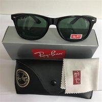 جودة عالية راي خمر الطيار العلامة التجارية الشمس النظارات الفرقة الاستقطاب uv400 حظر الرجال النساء بن النظارات الشمسية مع صندوق وحالة 3447