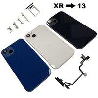 Per iPhone XR Converti la modifica a 13 Sostituzione del coperchio posteriore dell'alloggiamento con i pulsanti Strumenti dei cavi flessibili