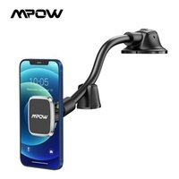 MPOW CA154 Magnetic Car Phone Mount Dashboard Windshield Car Phone Holder Car Mount Strong Suction Cup Compatible iPhone Galaxy