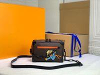 Orijinal Lüks Tasarımcılar Çanta Crossbody Mini Yumuşak Gövde Kutusu Çanta Monogramlar Empreinte Deri Klasik Messenger Cüzdan Çanta Omuz Sikke Çanta