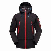 Männliche Denali Apex Bionische Jacken Outdoor Casual Softshell Warmwasserdicht Winddicht Atmungsaktive Ski-Gesichtsmantel 1460