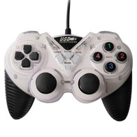 Wired USB Game Controller For PC Computer Laptop Vibration Joystick Gamepads WinXP Win7 Win8 Win10 Controllers & Joysticks
